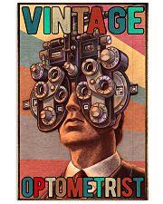 Vintage optometrist poster 24x36 Poster front