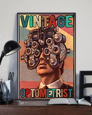 Vintage optometrist poster 24x36 Poster lifestyle-poster-2
