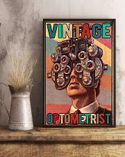 Vintage optometrist poster 24x36 Poster lifestyle-poster-3
