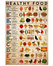 healthy food 24x36 Poster front