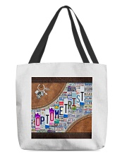 leather tote plate optometrist dvhd ntv All-over Tote back