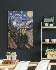 scream-phoropter dvhd 20x30 Gallery Wrapped Canvas Prints aos-canvas-pgw-20x30-lifestyle-front-04