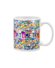 plate mask optometry Mug thumbnail