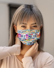 plate mask optometry Cloth Face Mask - 3 Pack aos-face-mask-lifestyle-18
