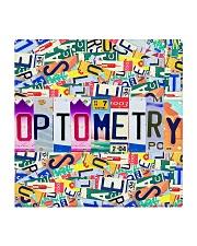 plate mask optometry Square Coaster thumbnail