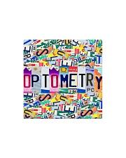 plate mask optometry Square Magnet thumbnail