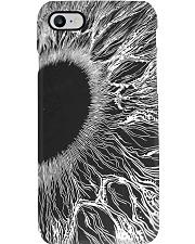 iris sketch  Phone Case i-phone-8-case