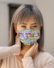 plate mask oncologist Cloth Face Mask - 3 Pack aos-face-mask-lifestyle-18