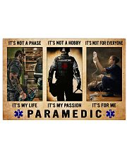 Paramedic passion dvhd-NTH 17x11 Poster front