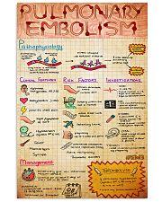 pulmonary ebolism doodle 11x17 Poster front