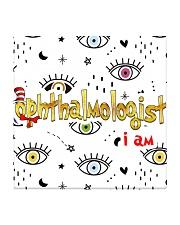 ophthalmologist i am mas Square Coaster thumbnail