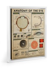 eye-anatomy 11x14 White Floating Framed Canvas Prints thumbnail