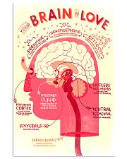 brain love 24x36 Poster front