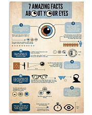 eye fact 24x36 Poster front