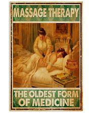 massage medicine 11x17 Poster front