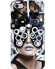 Phoropter girl purple dvhd Phone Case i-phone-8-case