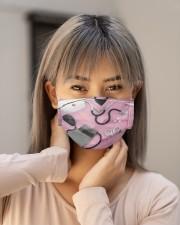 nurse scrub mask 2 Cloth Face Mask - 3 Pack aos-face-mask-lifestyle-18