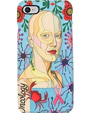 oncology abstract Phone Case i-phone-8-case