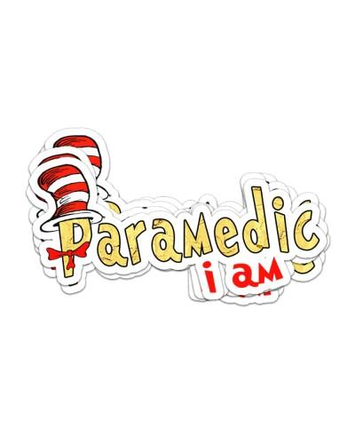 Sticker I am Paramedic