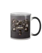 steampunk phoropter  Color Changing Mug tile