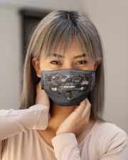 steampunk phoropter  Cloth Face Mask - 3 Pack aos-face-mask-lifestyle-18