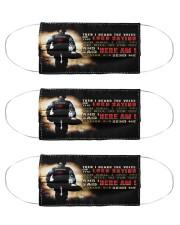 Isaiah Paramedic Cloth Face Mask - 3 Pack front