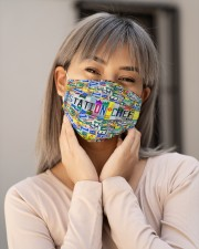 plate mask Station Chef  Cloth Face Mask - 3 Pack aos-face-mask-lifestyle-17