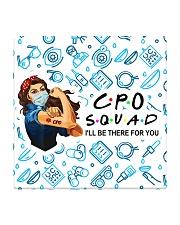 mas squad CPO  Square Coaster tile