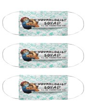 squad mask neurologist Cloth Face Mask - 3 Pack front