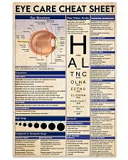 Eye-Care poster  24x36 Poster front