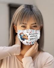 school nurse squad mas Cloth Face Mask - 3 Pack aos-face-mask-lifestyle-18