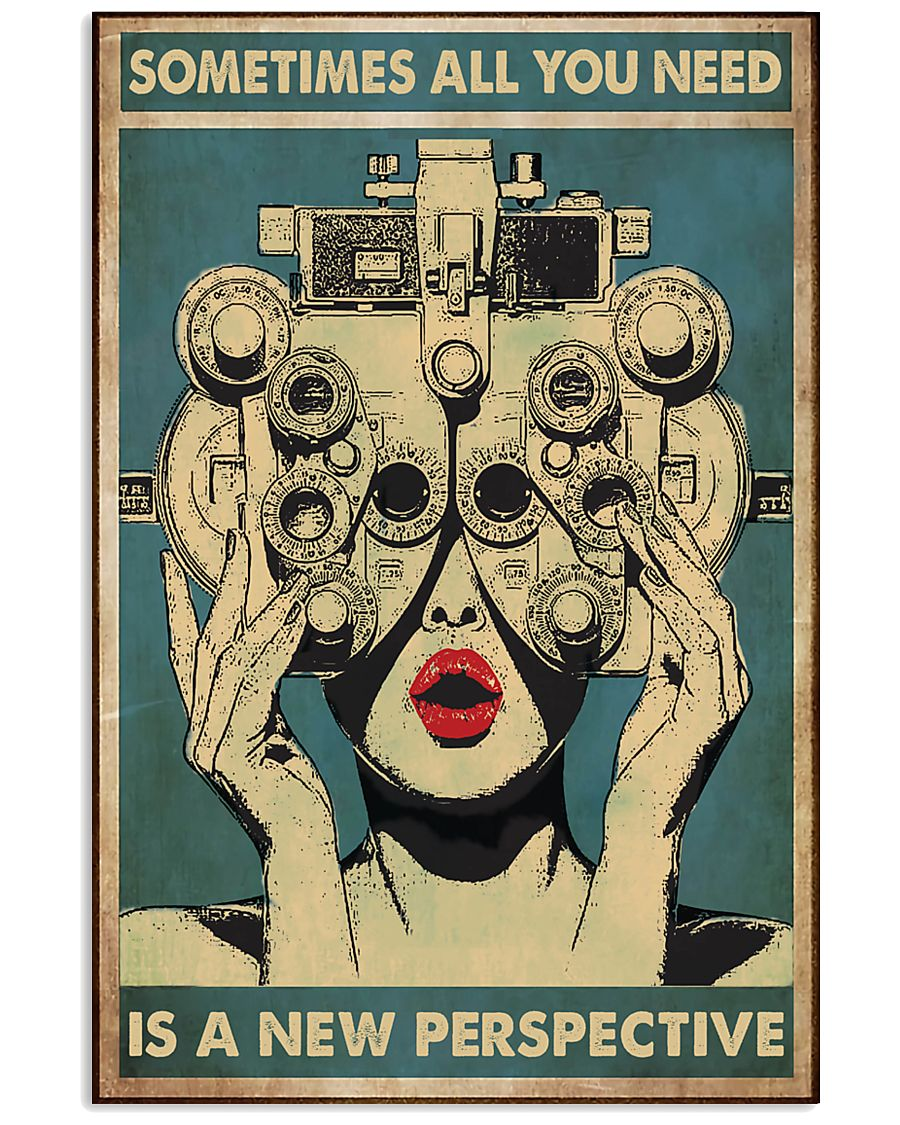 perspective optometrist 24x36 Poster