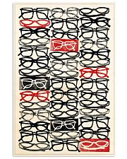 stacked eye glass 24x36 Poster front