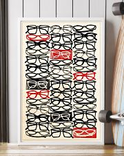 stacked eye glass 24x36 Poster lifestyle-poster-4