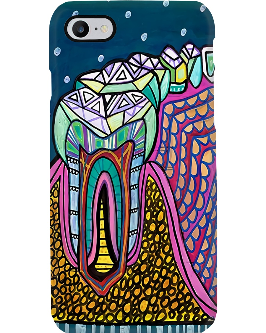 dental-abstract-case3 Phone Case
