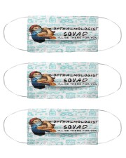 squad mask opthalmologist Cloth Face Mask - 3 Pack front