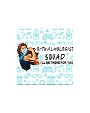 squad mask opthalmologist Square Magnet tile