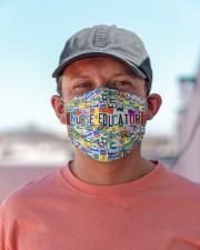 plate mask Nurse Educator Cloth Face Mask - 3 Pack aos-face-mask-lifestyle-06