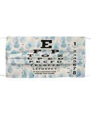 eye chart-close-pattern 2 Mask tile
