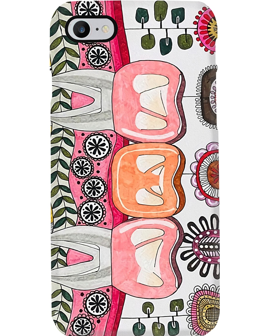dental-abstract 0905 6 Phone Case