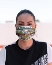 Nurse Office mas Cloth Face Mask - 3 Pack aos-face-mask-lifestyle-03