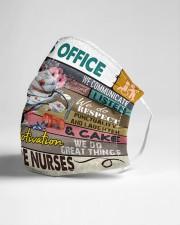 Nurse Office mas Cloth Face Mask - 3 Pack aos-face-mask-lifestyle-21