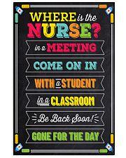 school-nurse-where2 11x17 Poster front