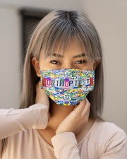 Plate mas Orthoptist Cloth Face Mask - 3 Pack aos-face-mask-lifestyle-18