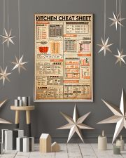 kitchen cheat sheet 24x36 Poster lifestyle-holiday-poster-1