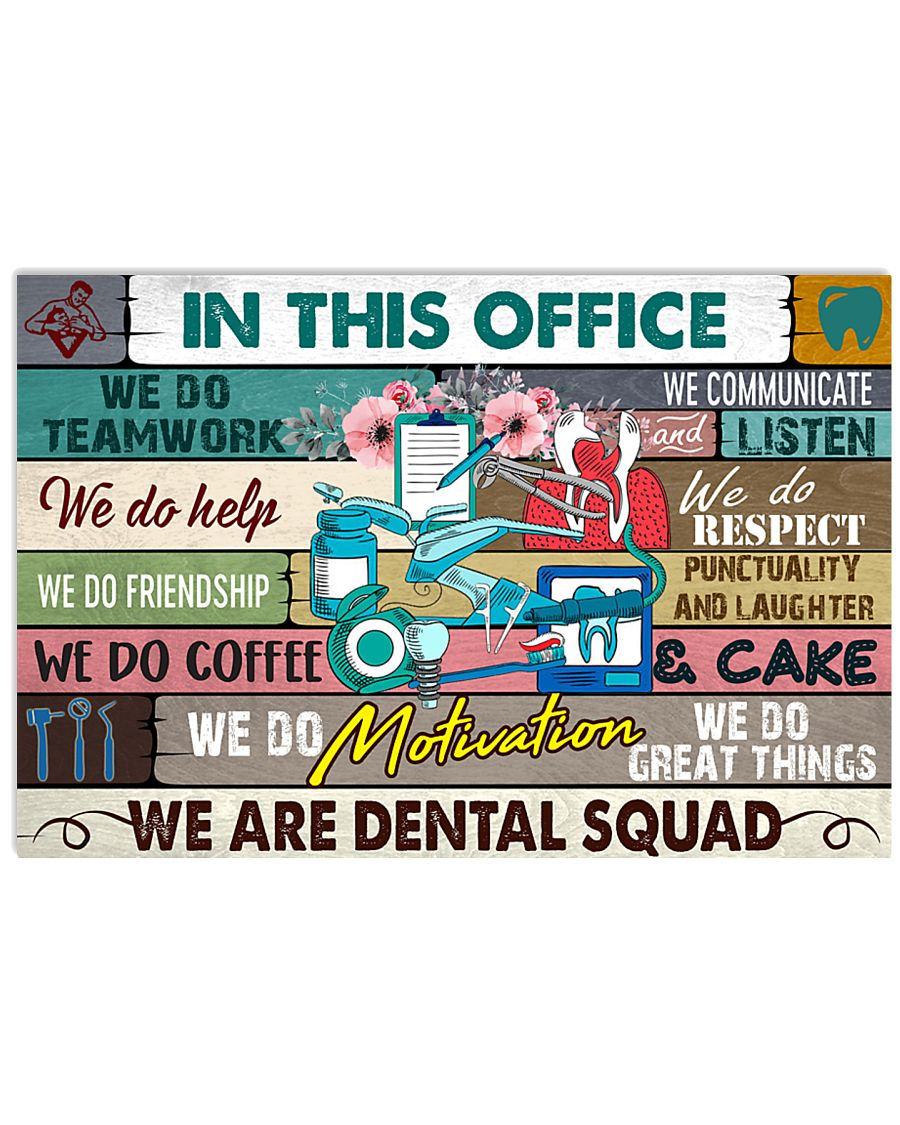 this-office-dental squad 17x11 Poster