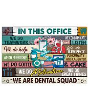 this-office-dental squad 17x11 Poster front