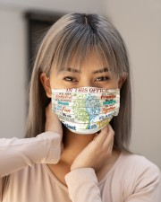 this office tree nurse Cloth Face Mask - 3 Pack aos-face-mask-lifestyle-18