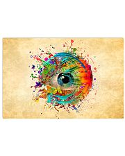 Eye colorful 36x24 Poster front
