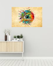 Eye colorful 36x24 Poster poster-landscape-36x24-lifestyle-01